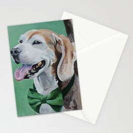 Beagle in a Bow Tie Stationery Cards