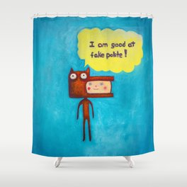 Wolfboy Shower Curtain