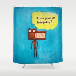 Wolfboy Shower Curtain