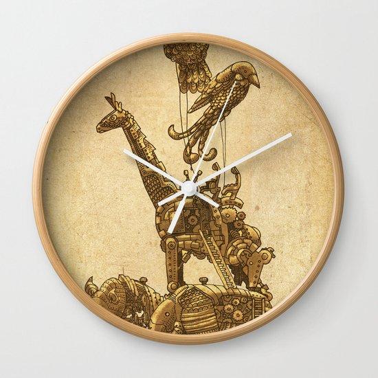 Mechanical Menagerie  Wall Clock