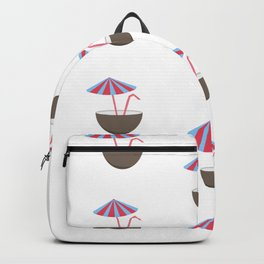 Coconut Umbrellas Backpack