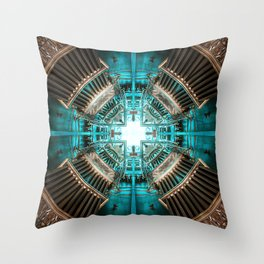 Rocket Propulsion Chamber Throw Pillow