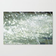 Dancing Water III Canvas Print