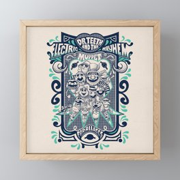 Reunion Tour Framed Mini Art Print