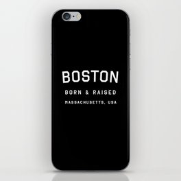 Boston - MA, USA (Arc) iPhone Skin