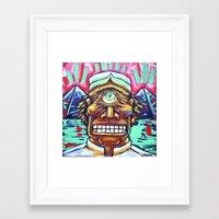 cyclops Framed Art Prints featuring CYCLOPS by M. Ali Kahn