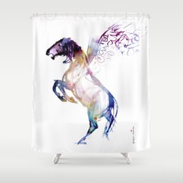 Horse (New Pegasus) Shower Curtain