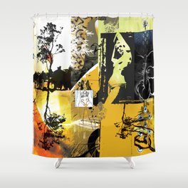 Exquisite Corpse: Round 1 Shower Curtain
