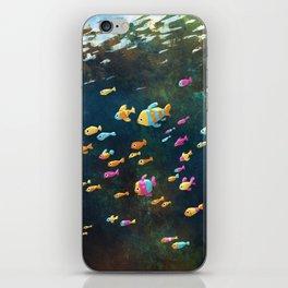 Many Many Fish iPhone Skin