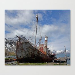 Whaling Ship Canvas Print