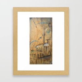 Seperate in Ages Framed Art Print
