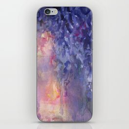 Wisteria Espressivo iPhone Skin