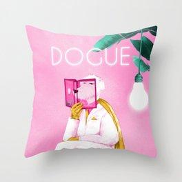 Dogue - Albert Camus Throw Pillow