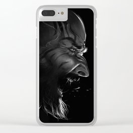 Grog Clear iPhone Case