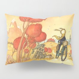 Bike Adventure Pillow Sham