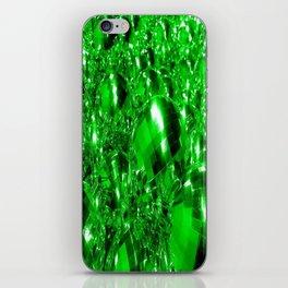 Green Ornaments iPhone Skin