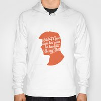 liam payne Hoodies featuring Liam Payne Silhouette   by Holly Ent