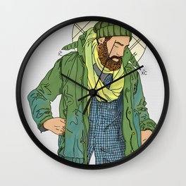 Jesus from New York Wall Clock