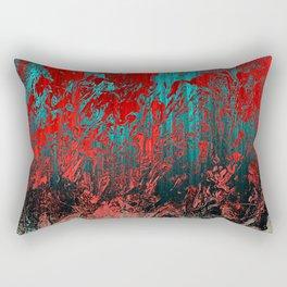 Earth Crime Pandemic Rectangular Pillow