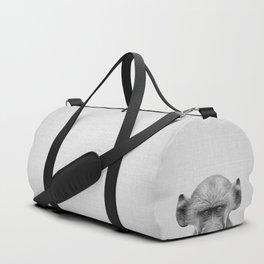 Baby Baboon - Black & White Duffle Bag