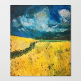 Yellow Fields Canvas Print