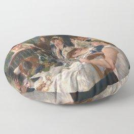 Auguste Renoir - Luncheon of the Boating Party (Le déjeuner des canotiers) Floor Pillow
