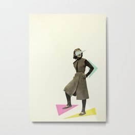 Shapely Figure Metal Print