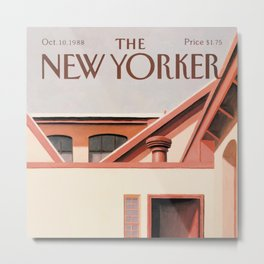 The New Yorker - 10/1988 Metal Print