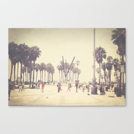 Venice Beach Boardwalk Canvas Print