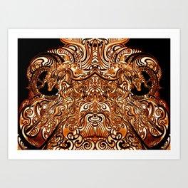 Divine Chariot Art Print