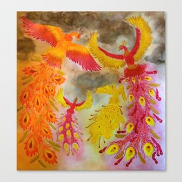 Family Phoenix Canvas Print