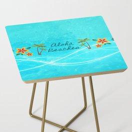 Aloha Beaches Side Table