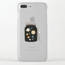 galaxy in ta the both Clear iPhone Case