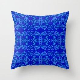 Indigo Batik Throw Pillow
