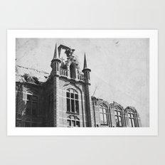 Urbex  Art Print