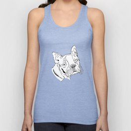 Boston Terrier  Unisex Tank Top