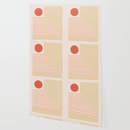 Lines & Circle 02 Wallpaper