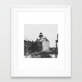 Matt's Landing Lighthouse Framed Art Print