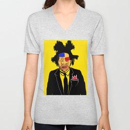Jean Michelle Basquiat Unisex V-Neck