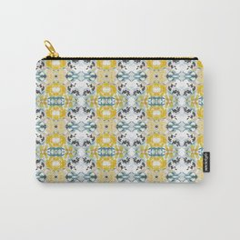 bee s flower tapestry Carry-All Pouch