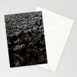 Black Steel Stationery Cards