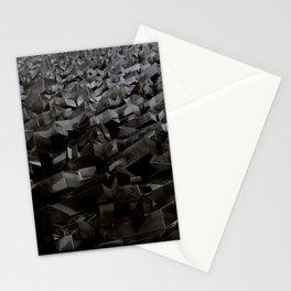 Black Steel Stationery Cards