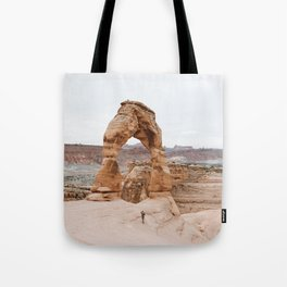 Early Morning at Delicate Arch Tote Bag