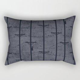 Telephone Poles - DUSK Rectangular Pillow