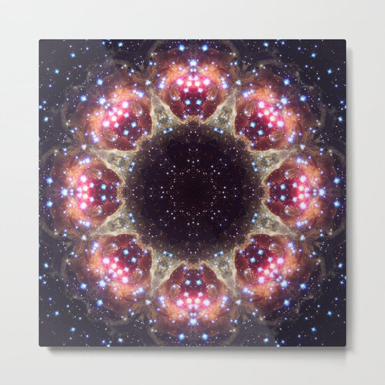 Space Mandala no6 Metal Print