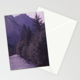 Going to the mountain Stationery Cards