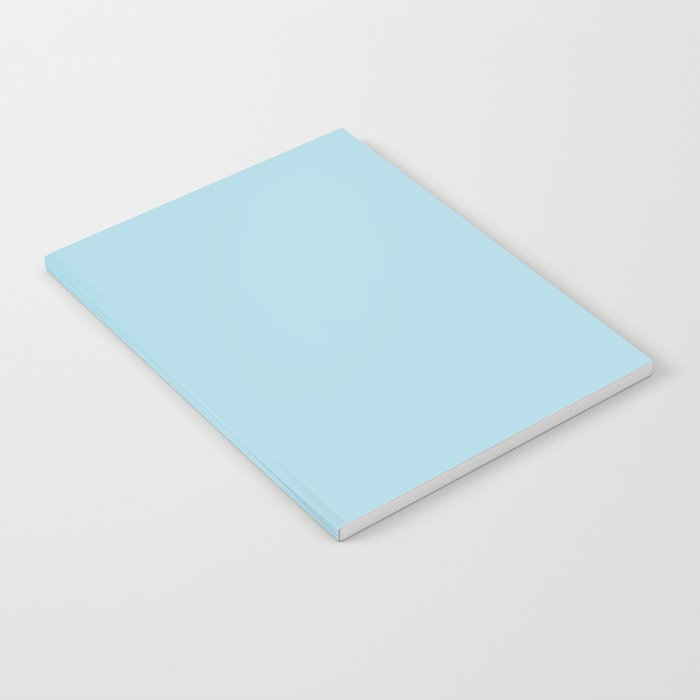 Light Blue - solid color Notebook