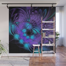 design on black -101- Wall Mural