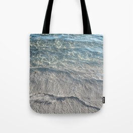 Water Photography Beach Tote Bag
