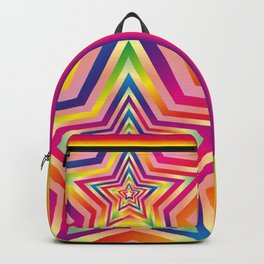 Star Colorful Rainbow Spectrums Backpack